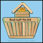 Noahs Ark Craft Stick Craft