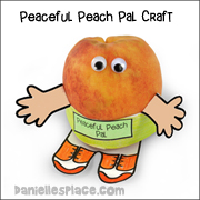 Fruit of the Spirit Peaceful Peach Craft