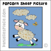 Popcprn Sheep Picture