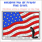 National Day of Prayer Writing Activity