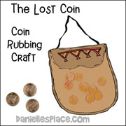 The Lost Coin Rubbing Craft