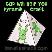 God will Help You Pyramid Craft