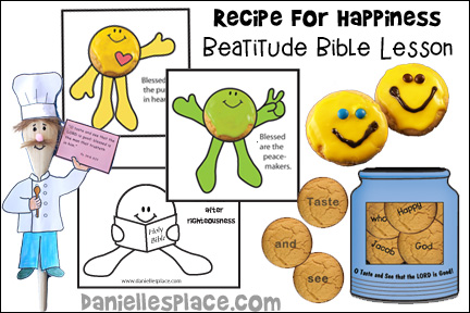 Recipe for Happiness Bible Lesson for Children