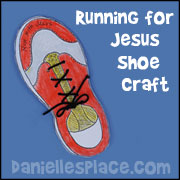 Run for Jesus Shoe Craft