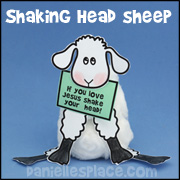 Sheep with Shaking Head