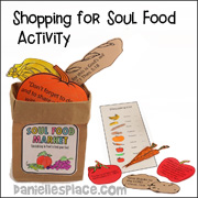 Shopping for Soul Food Activity