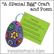 A Very Special Easter Egg Craft and Poem