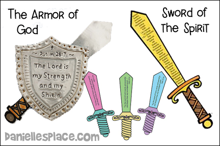 Armor of God - Sword of the Spirit Bible Lesson