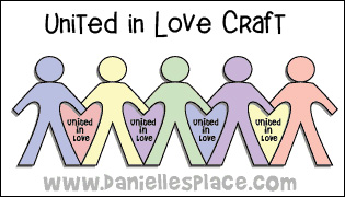 United in Love Paper Dolls