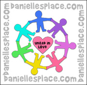 United in Love Activity Sheet