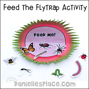 Feed the Flytrap Activity