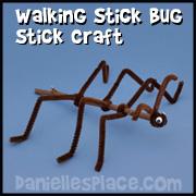 Walking Stick Bug Craft