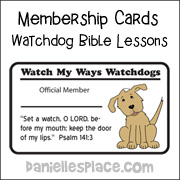 Watchdog Membership Cards