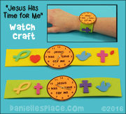 Jesus has Time for Me Watch Craft