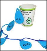 Water Drops and Cup Bible Craft