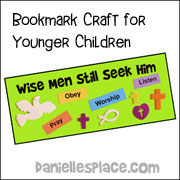 Younger Children's Bookmarks