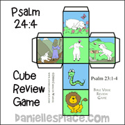 Psalm 23:4 Cube Game