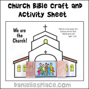 We Are the Church Activity Sheet