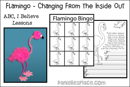 Changing From the Inside Out - Flamingo