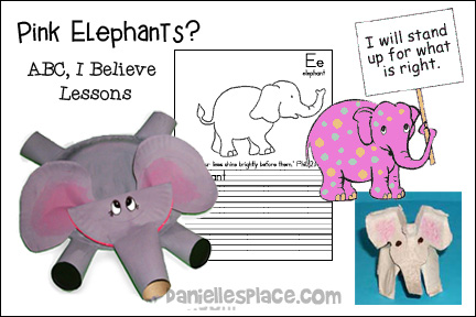 Pink Elephants? - ABC, I Believe Bible Lessons