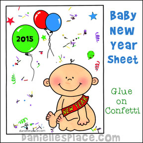 Baby New Year Card
