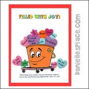 Filled With Joy Activity Sheet