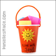 Paper Cup Bucket Craft