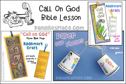 Call on God Bible Lesson