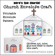 Here's the Church Envelope Craft