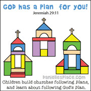 God Has a Plan for You Church Plans
