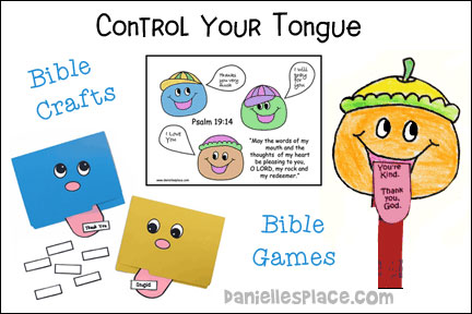 Control Your Tongue Bible Lesson