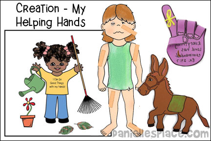 Creation - My Helping Hands Lesson