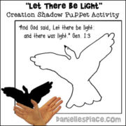 Creation Shadow Puppet