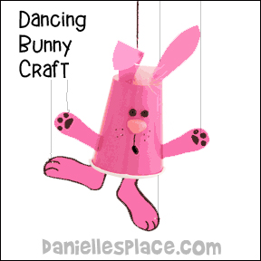 Dancing Bunny Craft