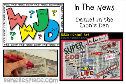 In the News - Daniel Bible Lesson