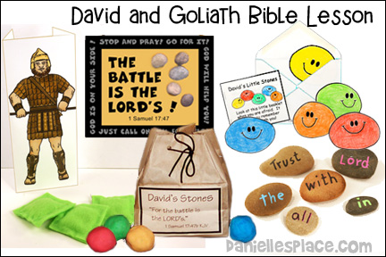 David and Goliath Bible Lesson