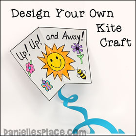Design your own kite craft