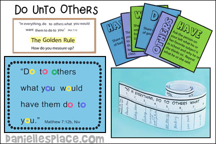 Do Unto Others Bible Lesson