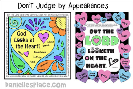 Don't Judge by Appearances Bible Lesson