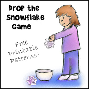 Drop the Snowflake Game