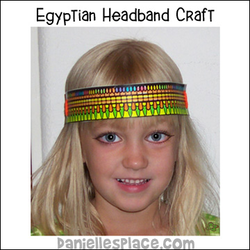 Egyptian Headband Craft