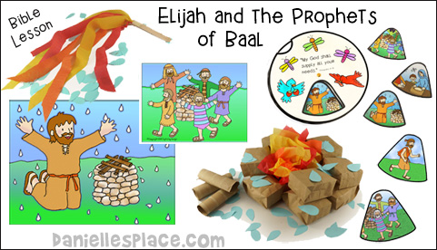 Elijah and the Prophets of Baal Bible Lesson