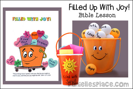 Filled with Joy Bible Lesson