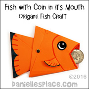 Origami Fish Craft