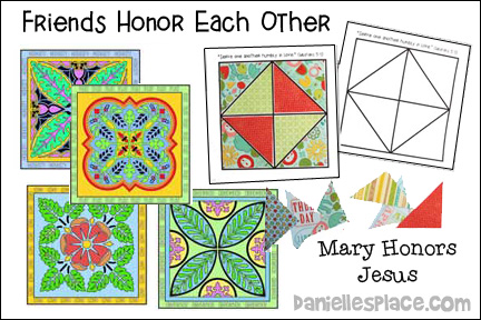 Friends Honor Each Other Bible Lesson
