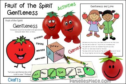 Fruit of the Spirit - Gentleness