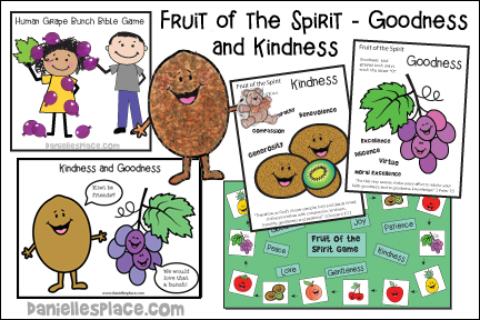 Fruit of the Spirit - Goodness and Kindness