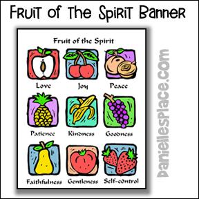 Fruit of the Spirit Lesson - Older Children