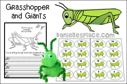 Grasshoppers and Giants - Joshua Bible Lesson