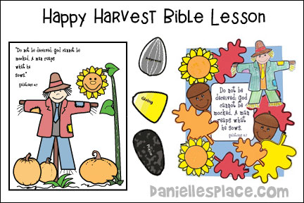 Happy Harvest Fall Bible Lesson